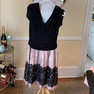 S.L. Fashions Size 14 Lined Dress in EUC